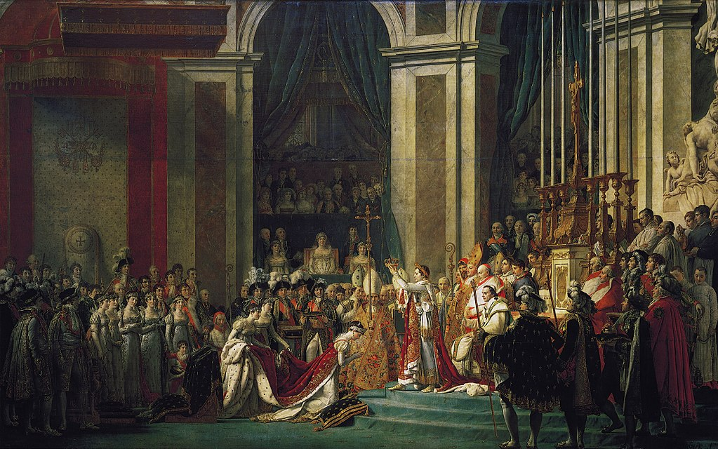 Le Sacre de Napoléon / De kroning van Napoleon (1807) - Jacques-Louis David