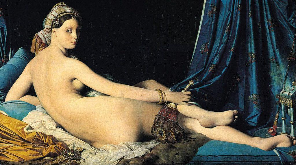 La Grande Odalisque / De grote odalisk (1814) - Jean-Auguste-Dominique Ingres