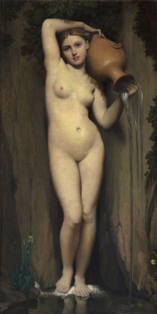La Source / De bron (1856) - Jean-Auguste-Dominique Ingres