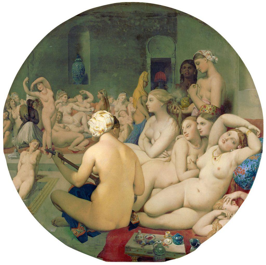 Le Bain turc / Het Turkse bad (1862) - Jean-Auguste-Dominique Ingres