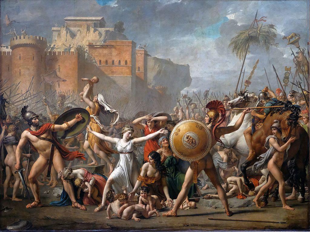 Les Sabines / De Sabijnen (1799) - Jacques-Louis David
