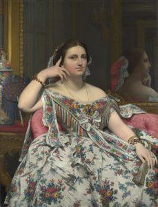 Madame Moitessier (1856) - Jean-Auguste-Dominique Ingres