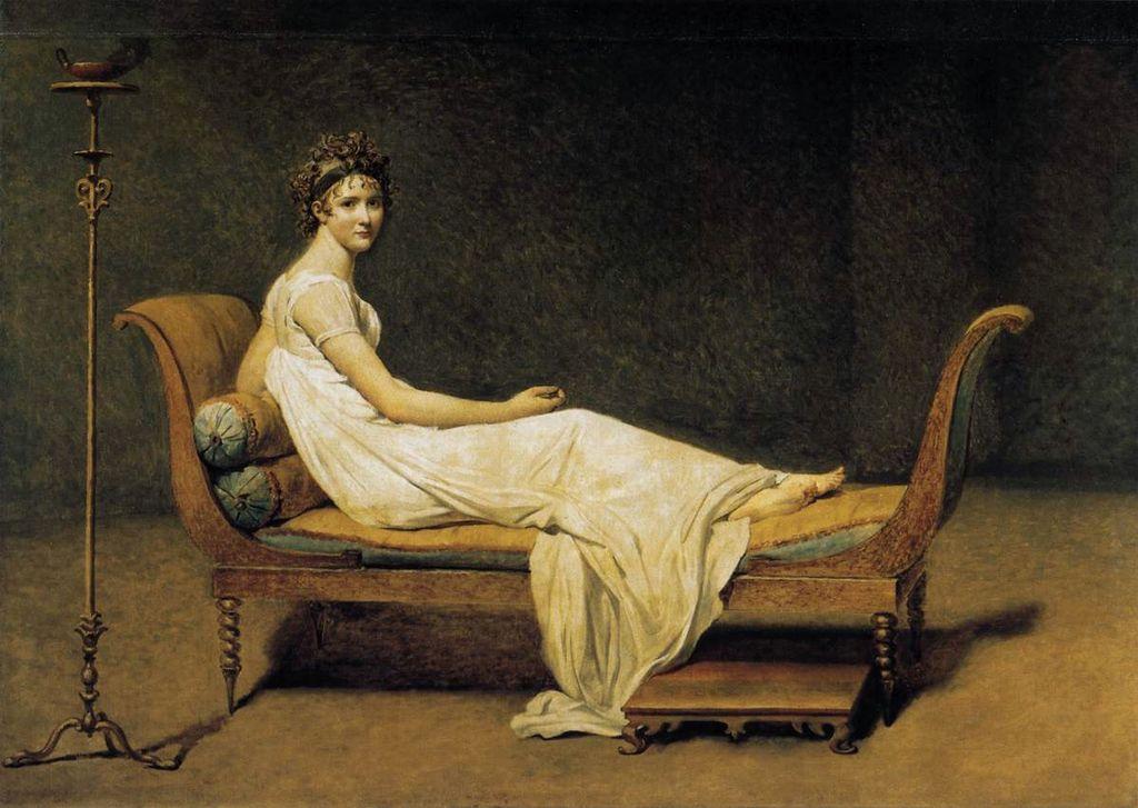 Portrait de madame Récamier / Portret van Madame Récamier (1800) - Jacques-Louis David