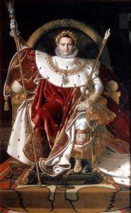 Napoléon Ier sur le trône impérial / Napoleon I op zijn troon (1806) - Jean-Auguste-Dominique Ingres