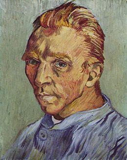 Portrait de l'artiste sans barbe (1889)