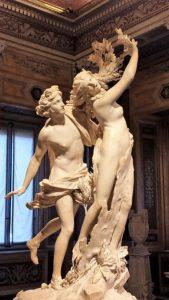 Apollo en Daphne - Galleria Borghese in Rome - Bernini