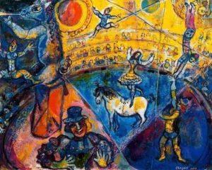 Circus Horse / Circus paard (1964) - Marc Chagall