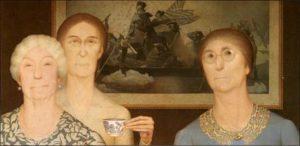 Daughters of Revolution (1932) - Grant Wood