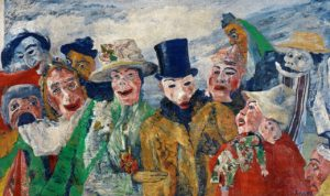 De intrige - (1890) - James Ensor