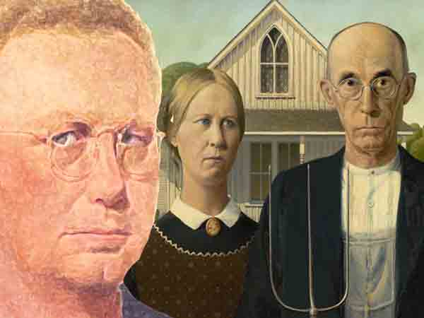 Beroemdste schilderijen van Grant Wood
