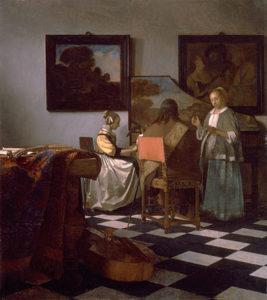 Het concert - Johannes Vermeer
