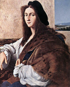 Ritratto di giovane uomo / Portret van een jongen man (ci. 1516-1517) - Raphael