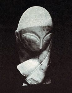 Portret van mademoiselle Pogany (1912) - Brâncuși