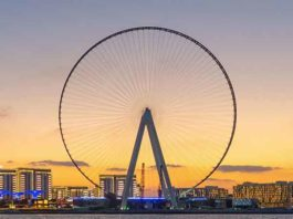 Hoogste reuzenrad ter wereld - Ain Dubai – 213 meter