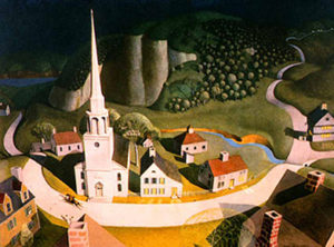 The Midnight Ride of Paul Revere (1931) - Grant Wood