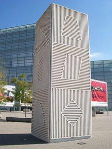 Tower (1984) - Figge Art Museum, Davenport, Iowa - Sol LeWitt