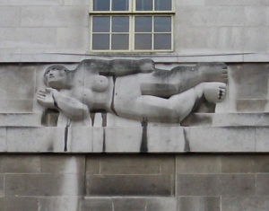 Reliëf West Wind (1928 –1729) - Henri Moore