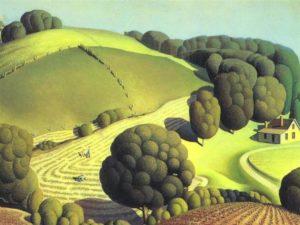 Young Corn (1931) - Grant Wood