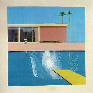 A Bigger Splash (1967) – David Hockney