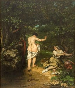 Les Baigneuses / De baadsters - Gustave Courbet