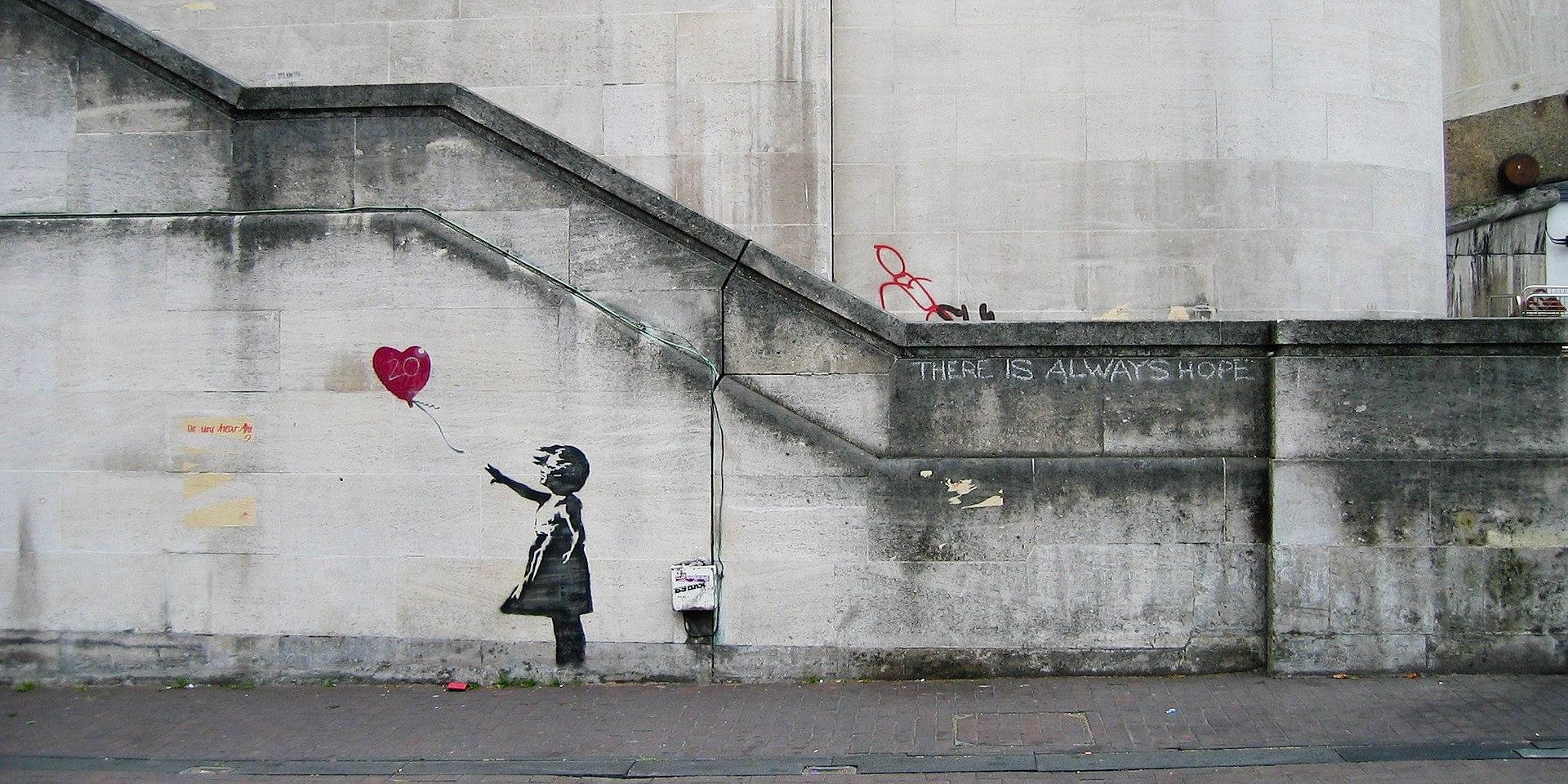 Balloon Girl (2002) – Banksy