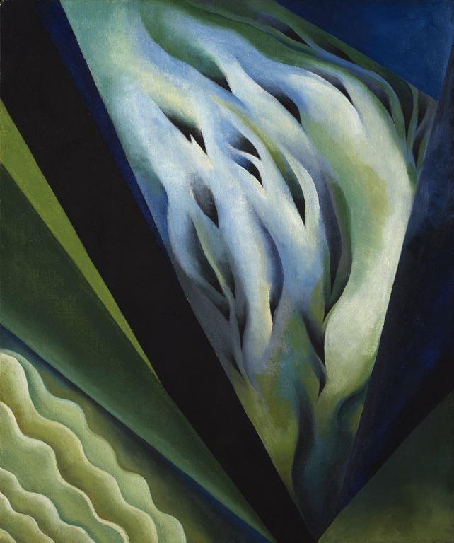 Blue and Green Music (1921) - Georgia O'Keeffe