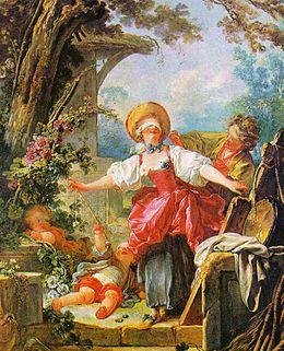 Le Colin-Maillard / Blindemannetje spelen (1760) - Jean-Honoré Fragonard
