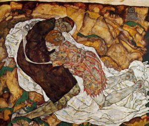 Tod und Mädchen / De dood en het meisje (1915) - Egon Schiele