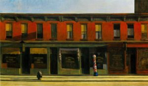 Early Sunday Morning (1930) - Edward Hopper