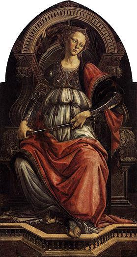 Fortezza / Standvastigheid (1470) - Sandro Botticelli