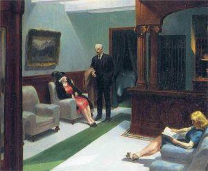 Hotel Lobby (1943) - Edward Hopper