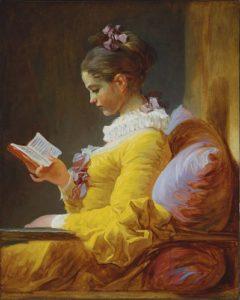 La liseuse / Lezend meisje) (1770-1772) - Jean-Honoré Fragonard