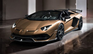 Duurste auto's in Nederland verkocht 2020: Lamborghini Aventador SVJ Roadster