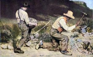 Les Casseurs de pierres / De steenhouwers (1849) - Gustave Courbet