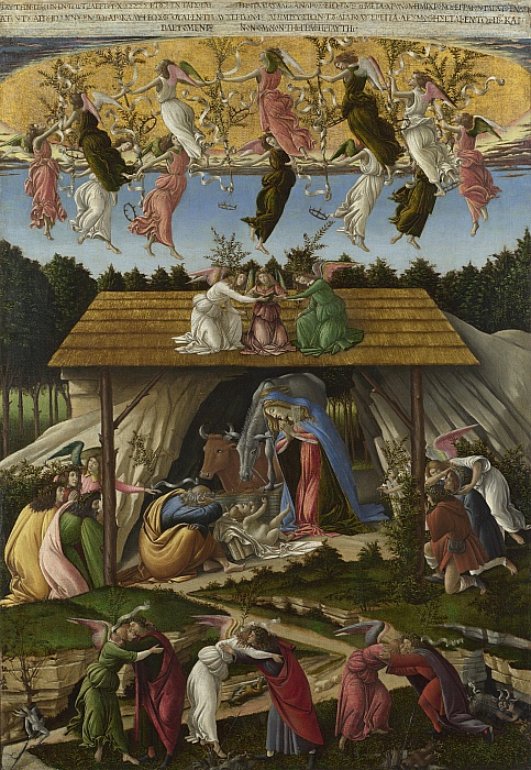 Natività mistica / Mystieke geboorte (c.1500) - Sandro Botticelli