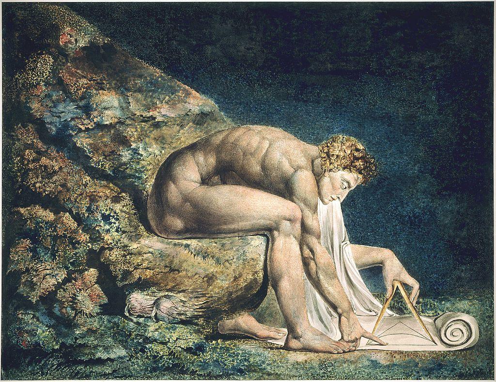 Newton (1795) – William Blake