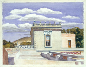Saltillo Mansion (1943) - Edward Hopper