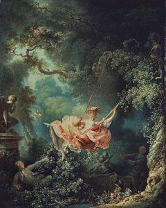 De schommel (1767) - Jean-Honoré Fragonard