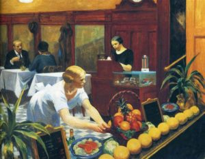 Tables for Ladies (1930) - Edward Hopper