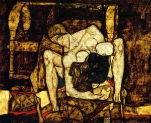 Blinde Mutter / Blinde moeder (1914) - Egon Schiele