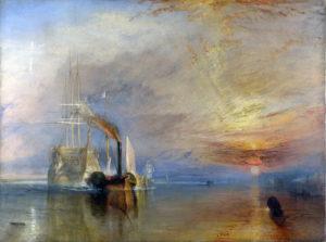 Bekendste schilderijen van J.M.W. Turner - The Fighting Temeraire (1839) - J.M.W. Turner