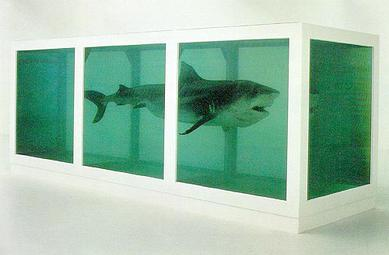 The Physical Impossibility of Death in the Mind of Someone Living (1991) – Damien Hirst
