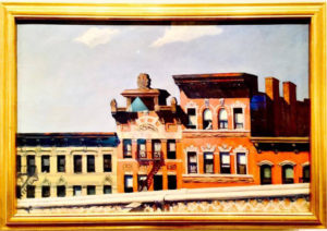 From Williamsburg Bridge (1928) - Edward Hopper