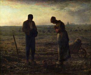 Het angelus / L'Angélus (1858) - Jean-François Millet