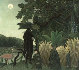 La Charmeuse de Serpents / De slangenbezweerster (1907) - Henri Rousseau