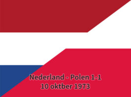 Nederland - Polen 1-1, 10 oktober 1973