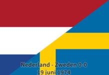 Nederland - Zweden 0-0, 19 juni 1974
