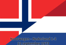 Noorwegen - Nederland 1-2, 12 september 1973