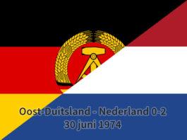 Oost-Duitsland - Nederland 0-2, 30 juni 1974
