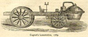 Oudste auto ooit gemaakt - Cugnots stoomwagen van 1769